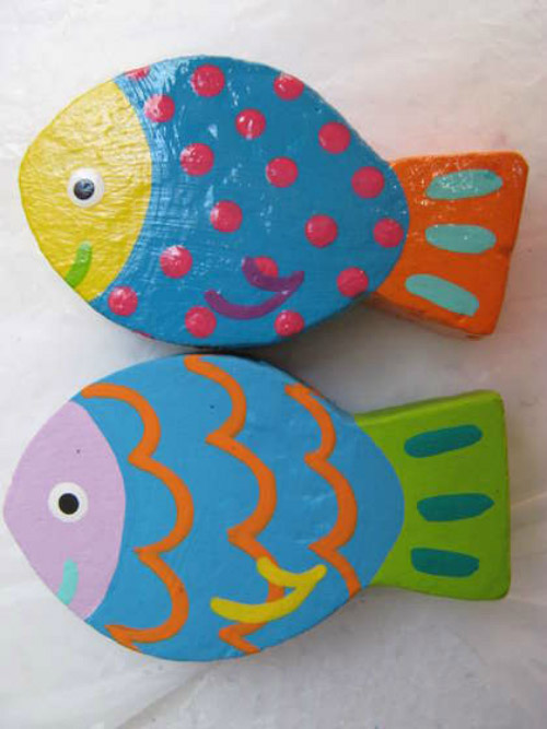 Cá con từ đồ tái chế