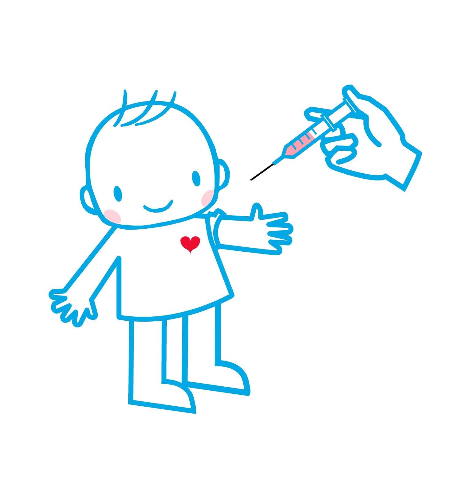 Resultat d'imatges de vacunas niños dibujo