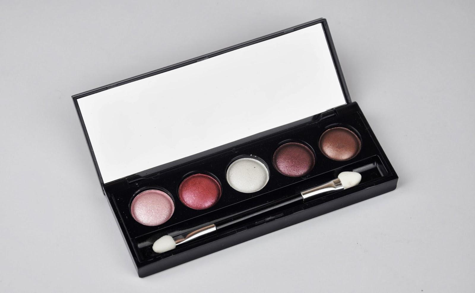 Ingrid Eyeshadow Palettes Review