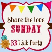 I was featured in Buttercream Bakehouse Share the Love Sunday Linky Party!