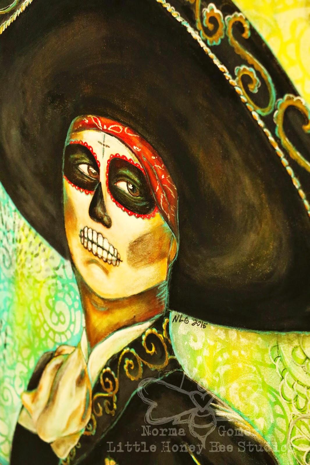 Little Honey Bee Studios: El Mariachi - Dia De Los Muertos Mixed ...