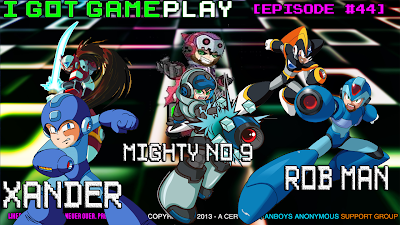 Happy Console Gamer Rob Man joins I Got Gameplay for Mega man and Mighty No 9
