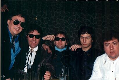 Con Los Solitarios en el Iberpop de Logroño (5 de enero de 1990):