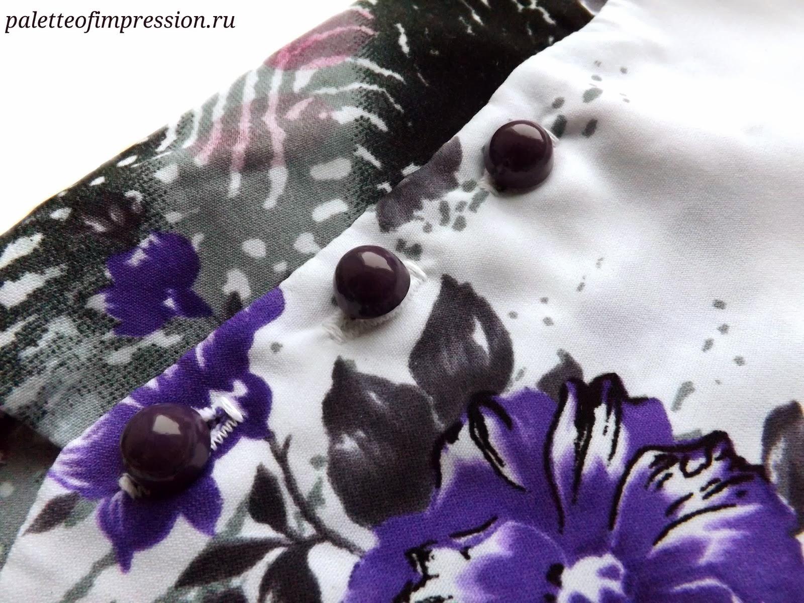 Платье прямого силуэта из плательной вискозы. Выкройка Burda 7/2012. Блог Вся палитра впечатлений.