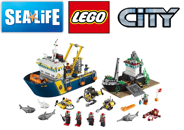 LEGO City, Sea Life, Summer Holiday to do