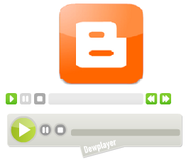 add Music file and Audio Player in Blogspot