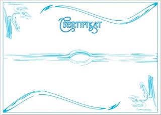 ... desain sertifikat format corel draw yang mungkin bisa bermanfaat bagi