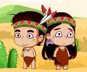 2 Kişilik Kızılderili