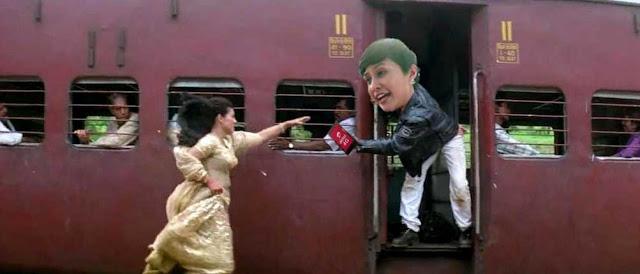 funny movement of DDLJ