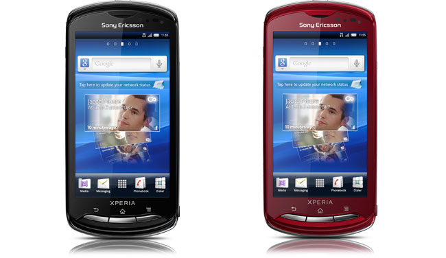Sony Ericsson Xperia Pro in details