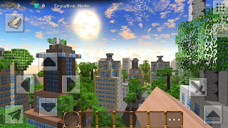 Screenshots of the City сraft: Herobrine for Android tablet, phone.