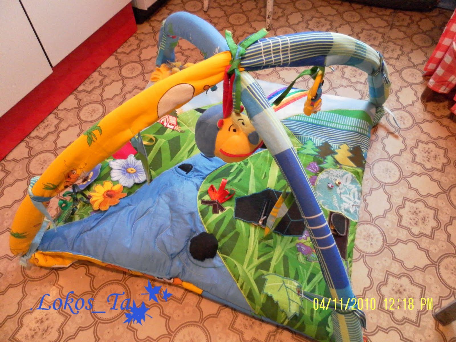 Развивающий коврик для детей своими руками мастер класс