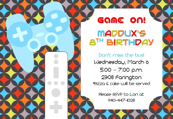 New Invitations and More to Come!