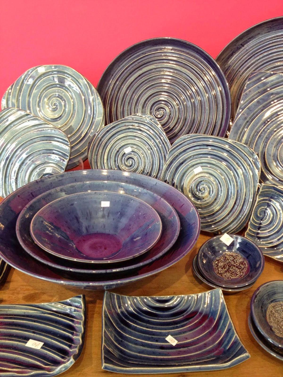 Ceramica de arte tambem na cozinha
