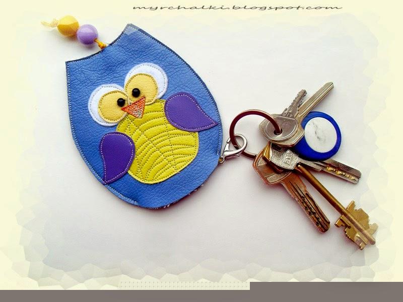 Ключница карманная своими руками