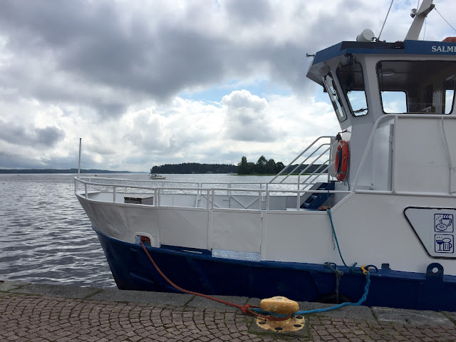 The Great Finnish Road Trip, road trip Finland, Kuopio marina