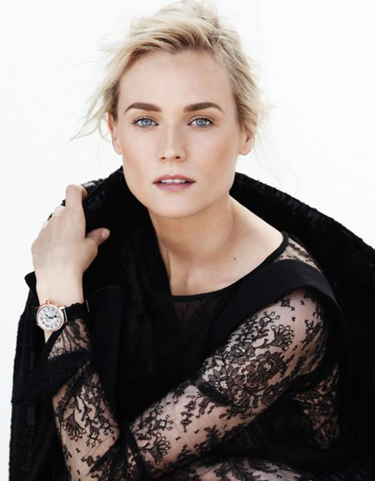 Diane Kruger for Vogue Mexico photgraphed by Thomas Whiteside, styled by Sarah Gore Reeves