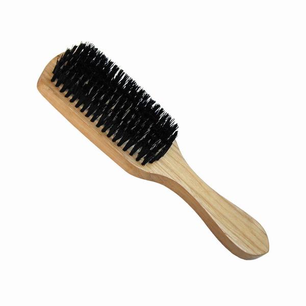 Brosse cheveux homme noir