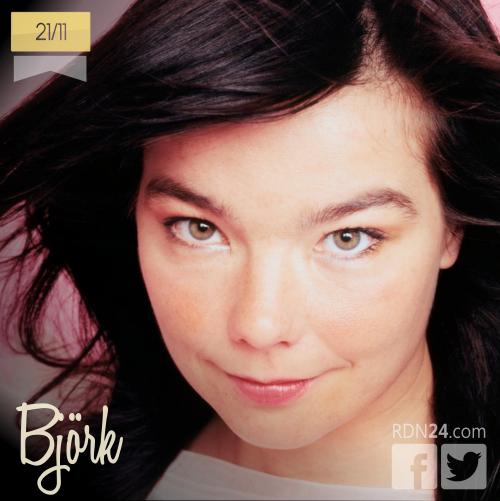 21 de noviembre | Björk - @bjork | Info + vídeos
