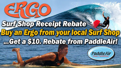 Ergo Surf Shop Receipt Rebate