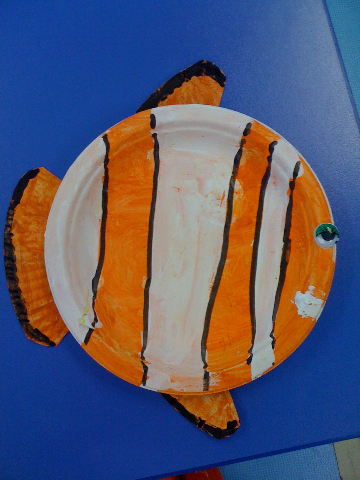 great paper plate tropical