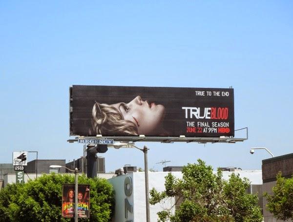 True Blood final season billboard