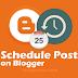 शेड्यूल्ड ब्लॉग पोस्ट को सही समय पर प्रकाशित कीजिए