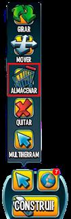 imagen de la herramienta almacenar