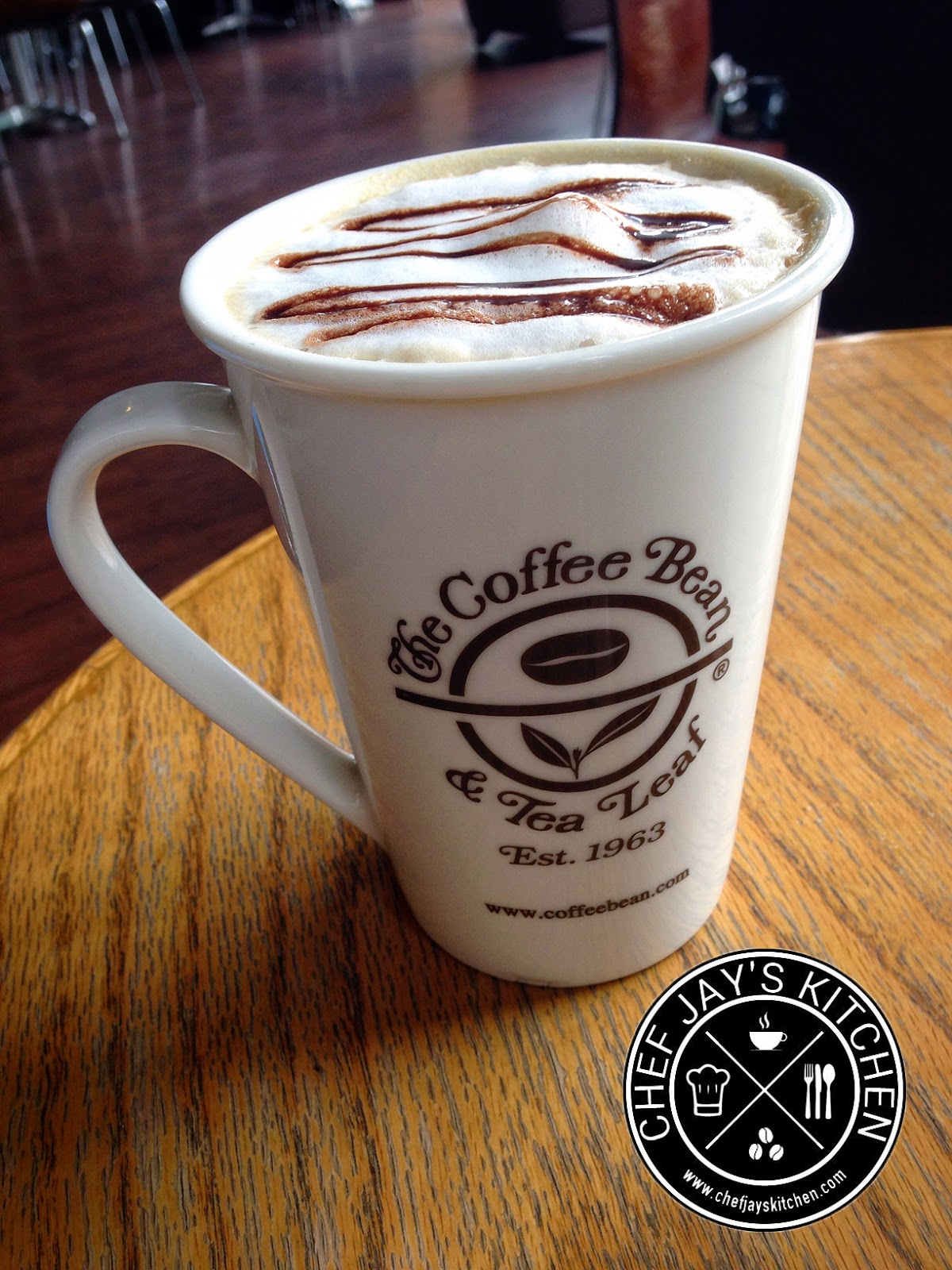 The Coffee Bean & Tea Leaf - CBTL White Chocolate Dream Latte