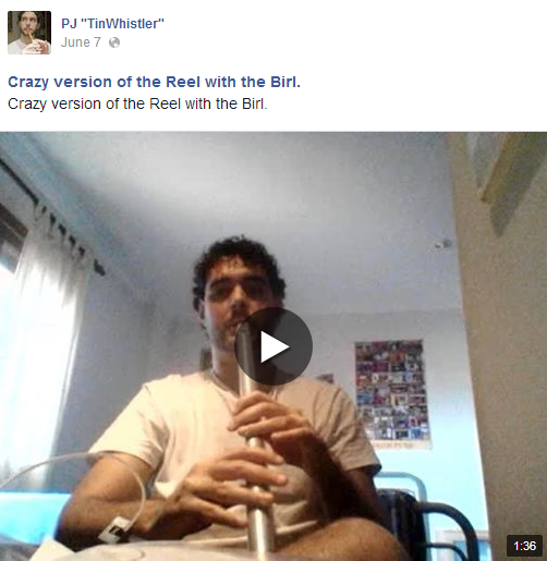 Crazy version of the Reel with the Birl. (video on FB)