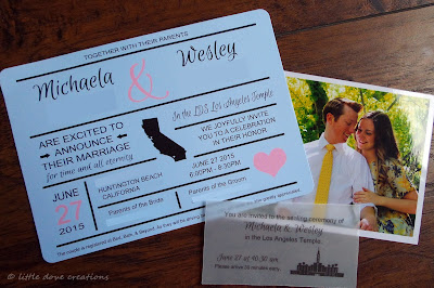infographic wedding announcements
