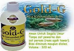 Obat Herbal Jelly Gamat Gold-G untuk Penyakit Nyeri Sendi