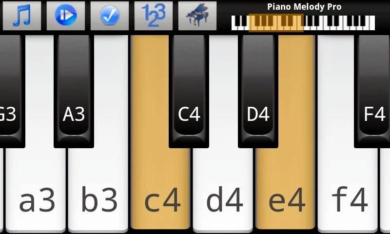 Piano Melody Pro vNew Menu