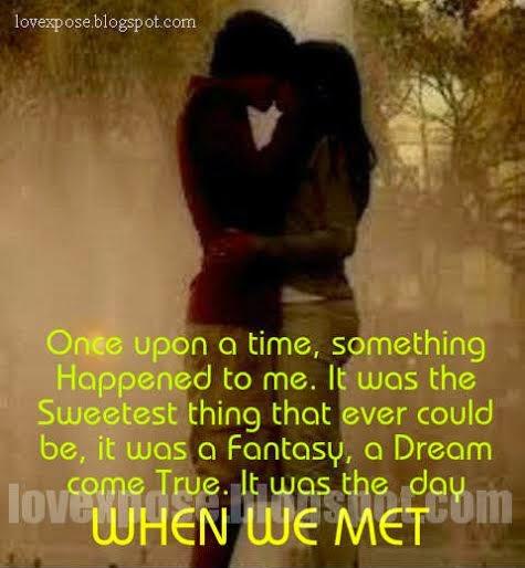 when we met remember