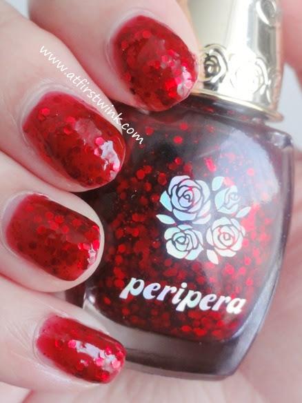Peripera nail polish RD704
