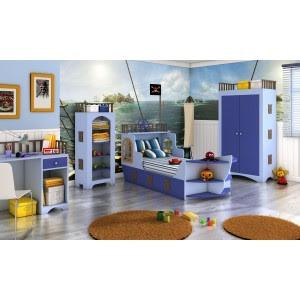Dormitorios juveniles habitaciones infantiles y mueble - Cama barco pirata ...