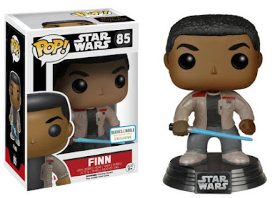 Barnes & Noble Exclusive Star Wars: The Force Awakens Finn with Lightsaber Pop! Vinyl Figure by Funko