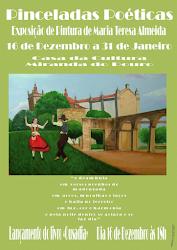 Exposição de pintura de Teresa Almeida - Casa da Cultura de Miranda do Douro 16-12-2012 a 31-01-13.