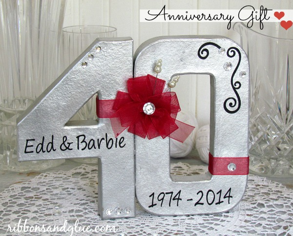 ... Anniversary Gifts: 40th Wedding Anniversary Gift Ideas For Parents Nz