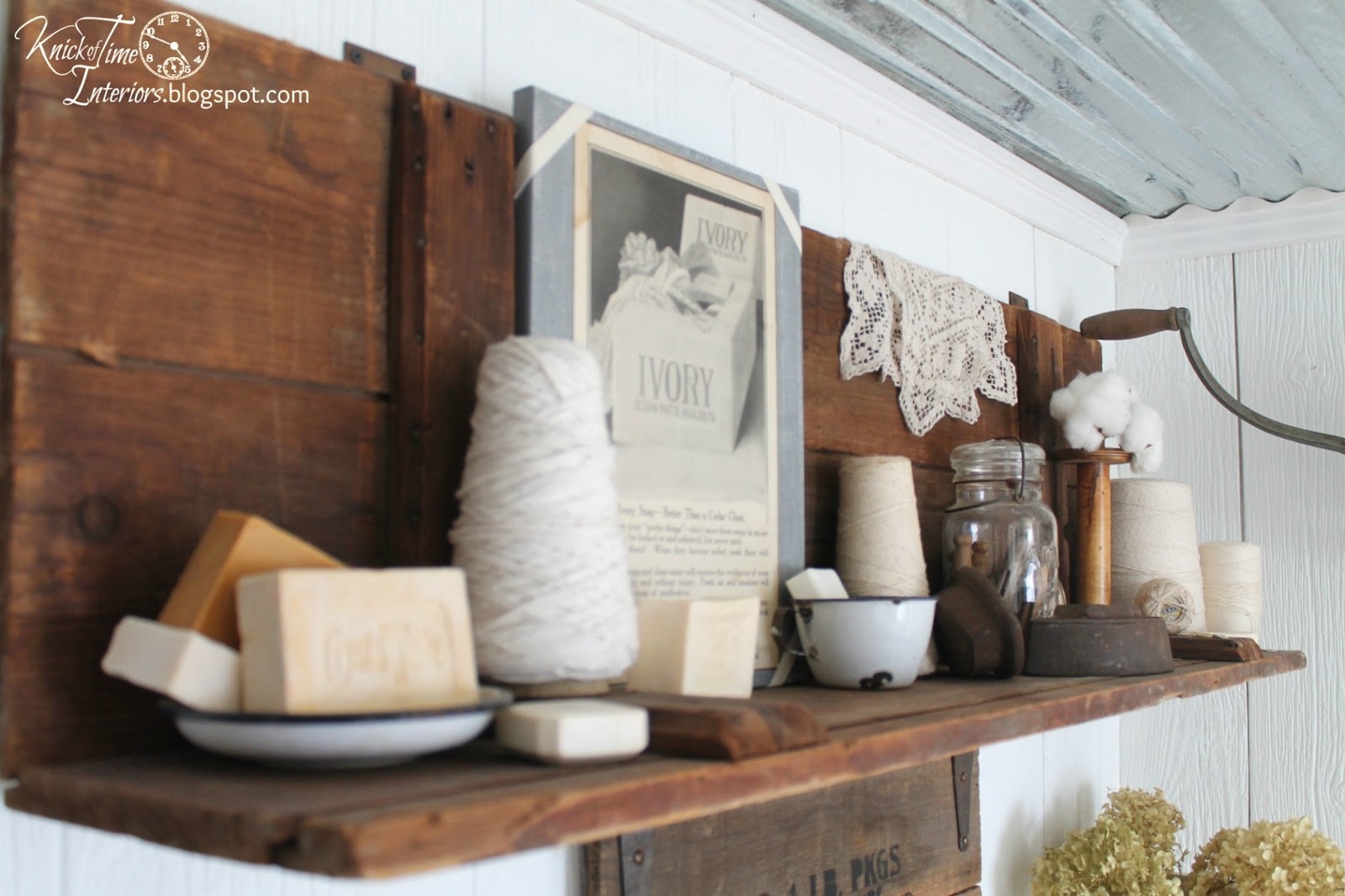 Old Fashioned Laundry Room Decor Laundry Room Reveal  Knick Of Time