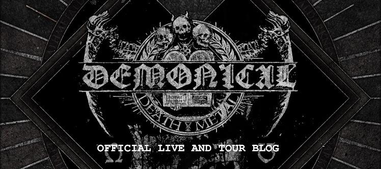 DEMONICAL LIVE AND TOUR BLOG
