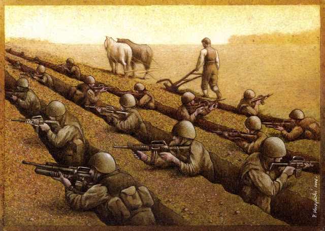 Satirical Art Drawings by Pawel Kuczynski
