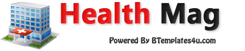 Health Mag Blogger Template