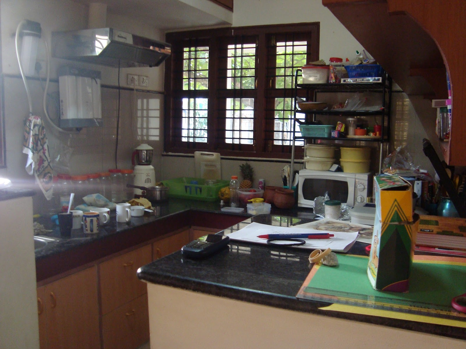 The Write Stuff On Kitchen Duty In India
