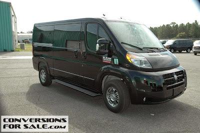 Ram Promaster Conversion Vans
