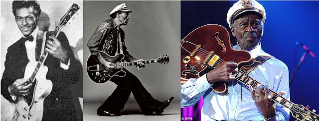 Chuck Berry through the years