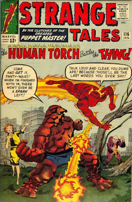 Strange Tales #116, Human Torch and the Thing