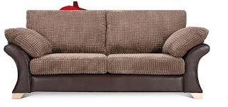 Eccles behind sofa