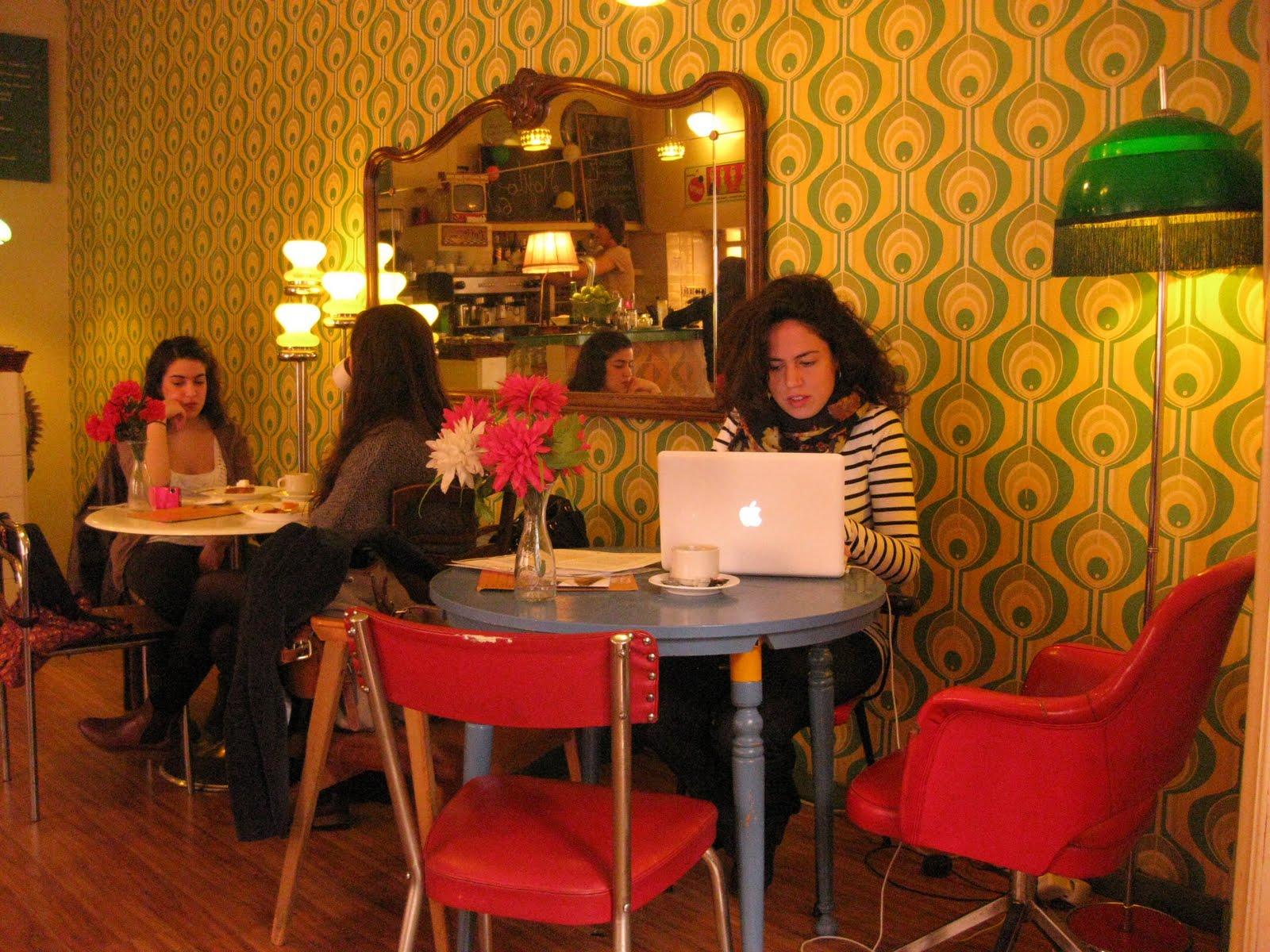 Caf s vintage la chica de la ciudad - Decoracion en los anos 50 ...