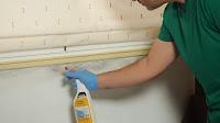 Aplicar limpiador antimoho. http://www.enredandonogaraxe.com